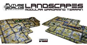 Future Worlds Landscapes - modular war game terrain