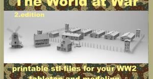 The World at War II printable scenery
