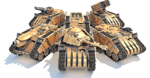 MAV3RICK - Modular 3D Printable Tank Kit in 28mm Scale