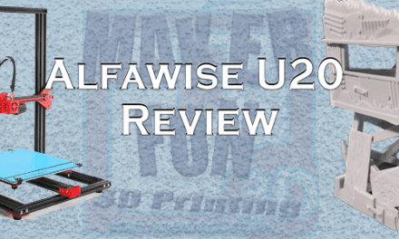 Alfawise U20 3D Printer – Great & Affordable