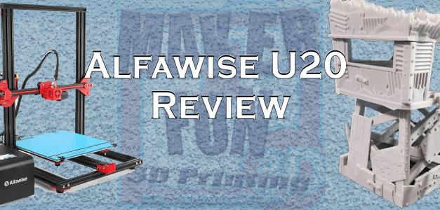 Alfawise U20 3D Printer – Great & Affordable