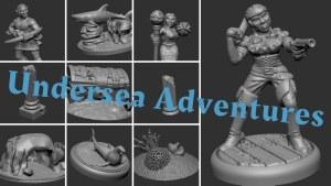 Undersea Adventures - NPCs and Scatter