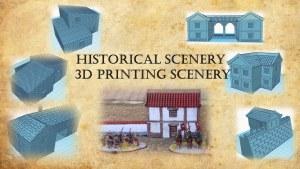 Historical Scenery - 3d printing scenery