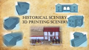 Historical Scenery - 3d printing scenery