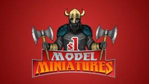 $1 Model Miniatures - Viking Warriors - Quickstarter