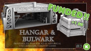 Hangar and Bulwark - Wargaming & Skirmish Printable Terrain
