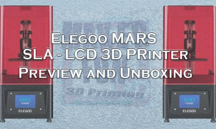 Elegoo Mars SLA-LCD 3D Resin Printer – Preview