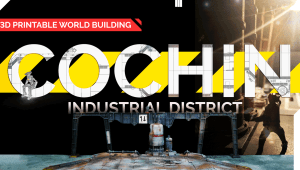 Cochin Industrial District - 3d Printable World Building