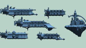 Dark Opera Space Fleet
