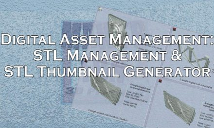 Digital Asset Management, STL Viewers & STL Thumbnails
