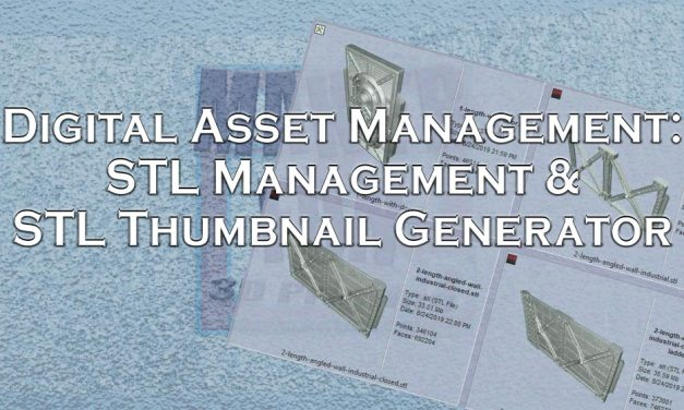 Digital Asset Management, STL Viewers & STL Thumbnails