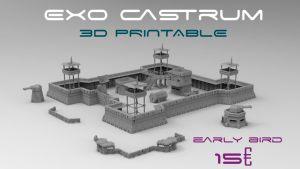 Exo castrum - 3d printable terrain