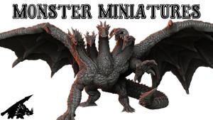 Monster Miniatures - 3d Printable Support-Free Tabletop Minis