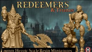 HeresyLab - Redeemers Fantasy / Scifi Resin Miniatures & STL