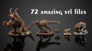 STL Animal Companion Miniatures