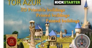 TOR AZUR building elve 3d printing for wargames 24 to 32mm