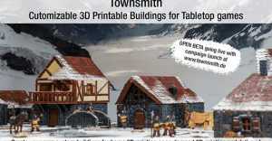 Townsmith - Customizable 3D Printable Fantasy Buildings