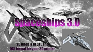 Future 3.0 (3D models of spaceships and cars of the future)