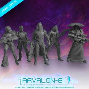 Arvalon 8 Miniatures