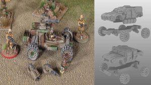 Rebel Minis Motorpool Kickstarter