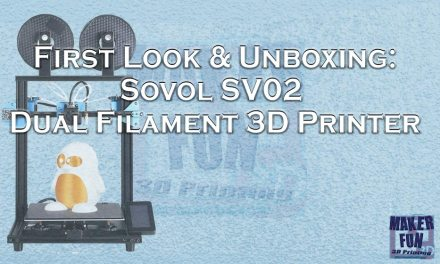 First Impressions: Sovol 3D SV02 Dual filament 3D Printer