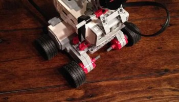 How to Make Easy, Cheap Craft Foam Robot or Toy Wheels