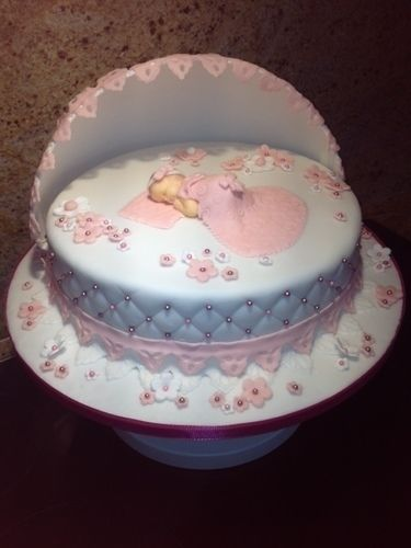 Tauftorte von Sabine Einder  Torten Cake Pops und