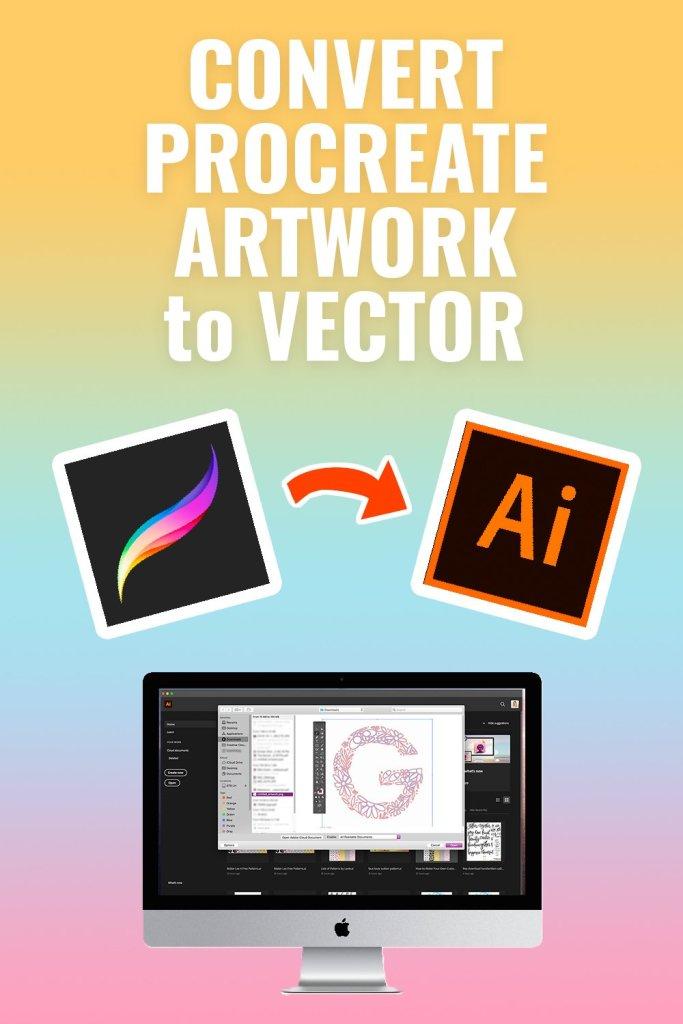 Convert Procreate Artwork to Vector