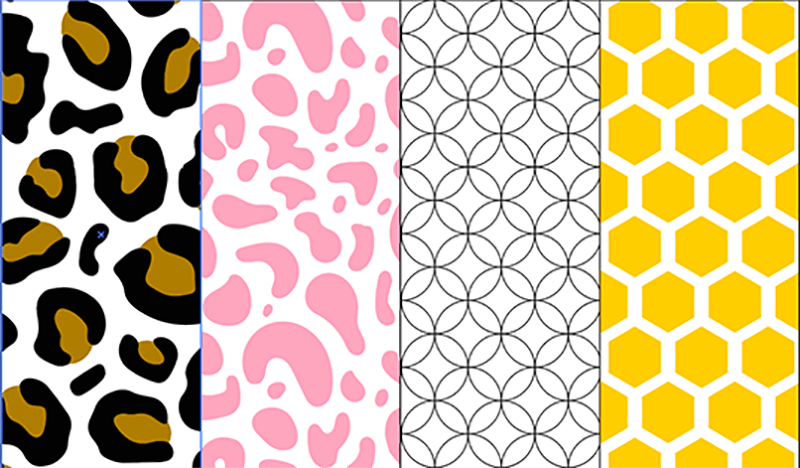 custom patterns illustrator