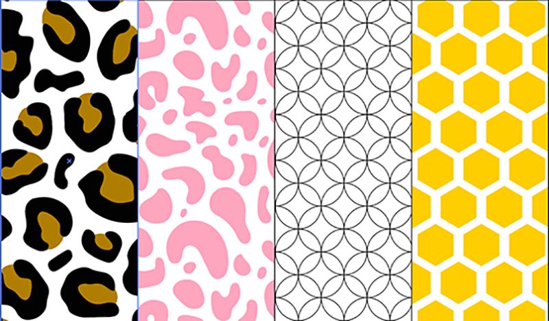 custom patterns illustrator