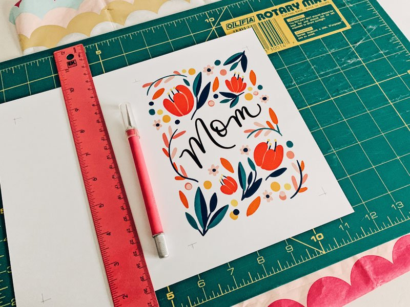 FREE Floral Mother's Day Card Printable