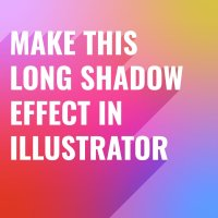 Quick Long Shadow Text Effect in Illustrator