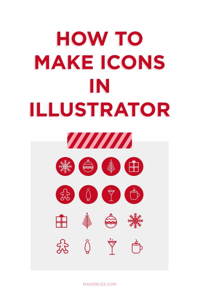 How to Make Icons in Illustrator 8 Free Holiday Icons