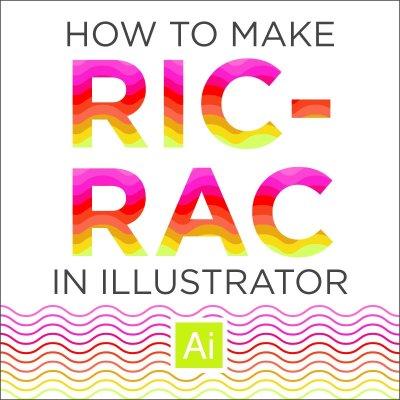 How to Create Ric-Rac in Illustrator