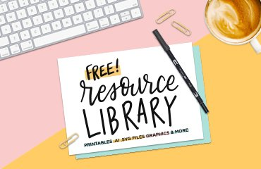 Wondernote Free Resource Library Graphics Handlettering Printables Art