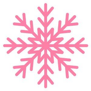 Pink Snowflake Illustrator Icon Tutorial