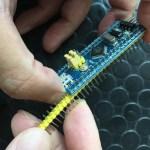 【Tutorial】如何焊接 Blue Pill 上的排針