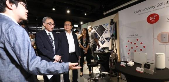 5G數位科技實證場域於DigiBlock揭幕