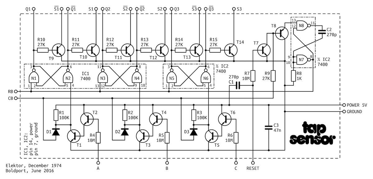 tap sensor kit blends vintage circuit with fresh design  u2022maker project lab