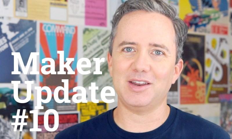 Maker Update 10 title card