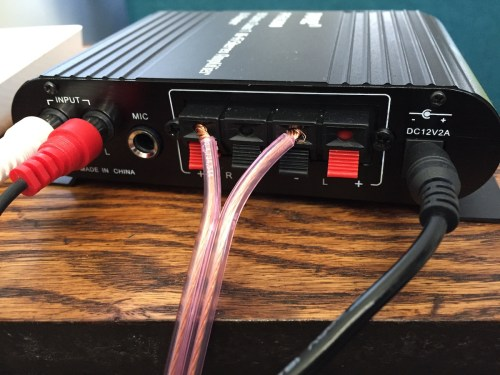 Bridged Mono Speaker Connection