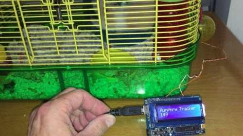 Arduino Hamster Wheel Pedometer.