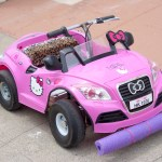 Making the Kitty Grabs Back Electric Go Kart
