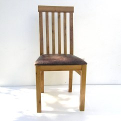 High Back Oak Dining Chairs Simple Chair Design With Leather Seat Makers