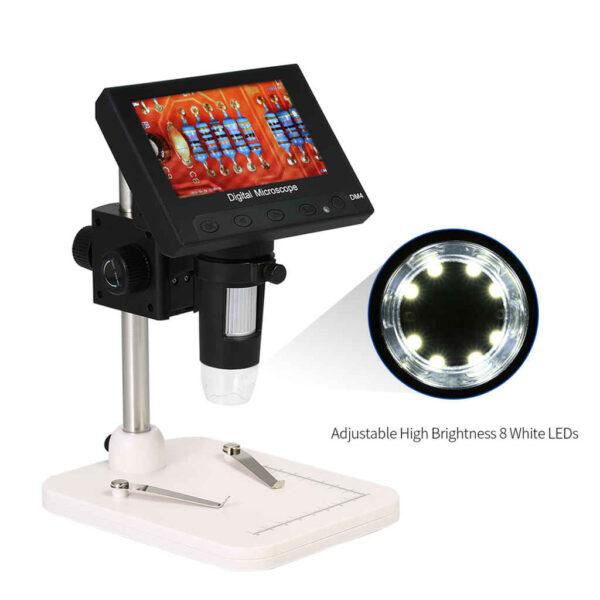 "Lifelike lcd digital microscope modality user manual customer support: Buy Digital Microscope 1000x DM4 4.3"" LED in Bangladesh"