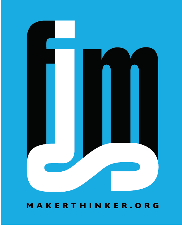 Check out the animated FIMS MakerThinker wordmark