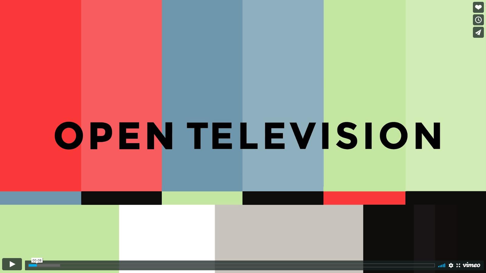 Open Television on Vimeo