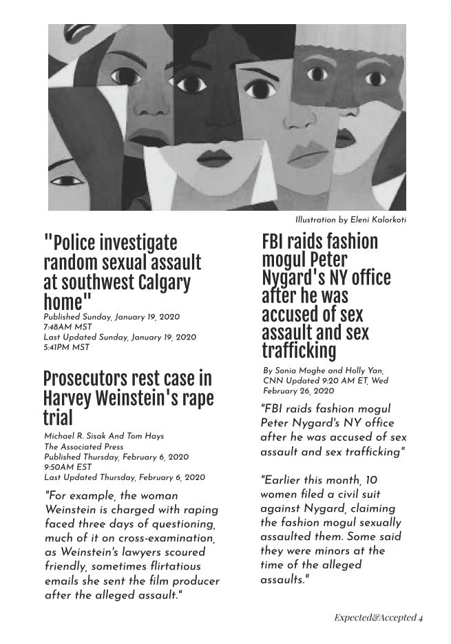Page 5: Accepted and Expected: An Exploration of North American News Reporting of Sexualized Violence