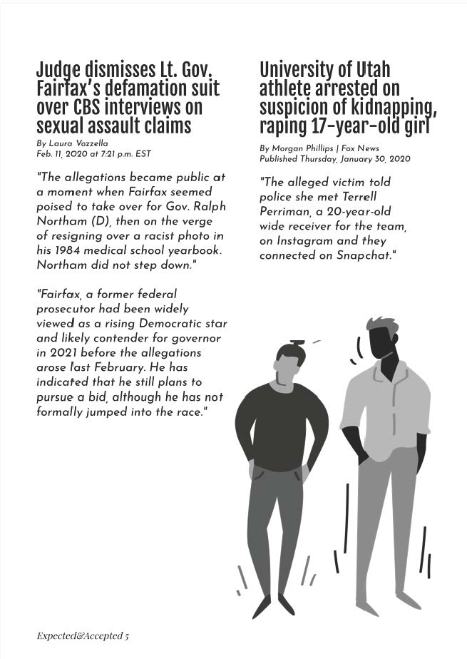 Page 6: Accepted and Expected: An Exploration of North American News Reporting of Sexualized Violence