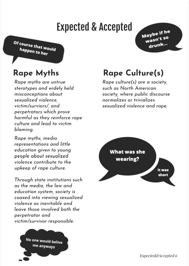 Page 7: Accepted and Expected: An Exploration of North American News Reporting of Sexualized Violence